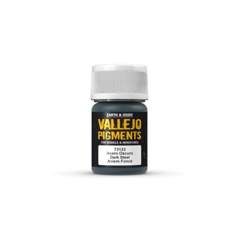 Vallejo 73123 Dark Steel Pigment