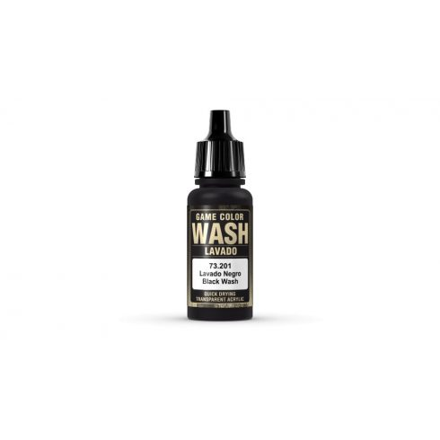 Vallejo 201 Black Wash akril festék 73201