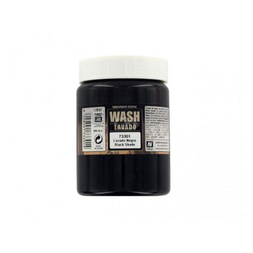 Vallejo Black wash 200 ml 73301
