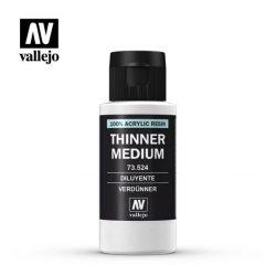 Thinner Medium 60ml hígító akril festékhez vallejo 73524