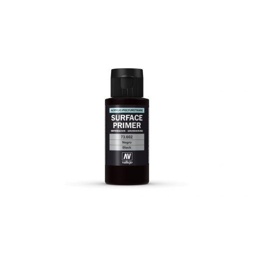 Vallejo Black Surface Primer alapozó festék 73602