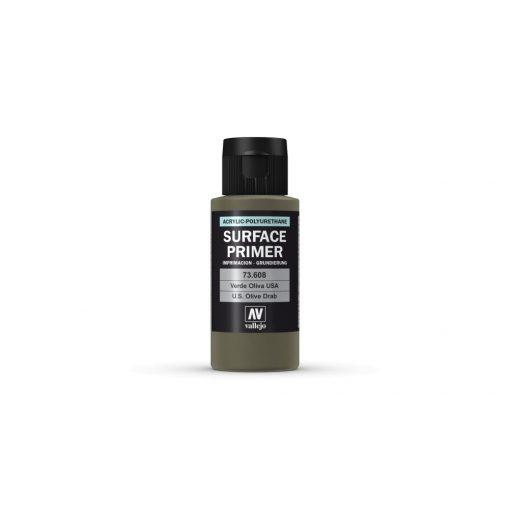 Vallejo U.S. Olive Drab Surface Primer alapozó festék 73608