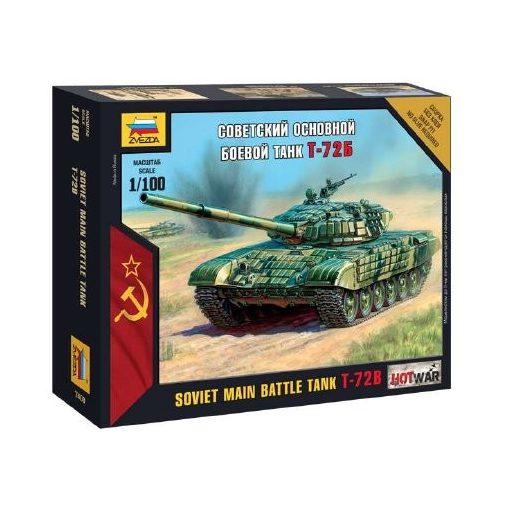 Zvezda Soviet Main Battle Tank T-72B makett 7400