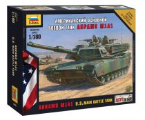 Zvezda Abrams M1 A1 tank makett 7405