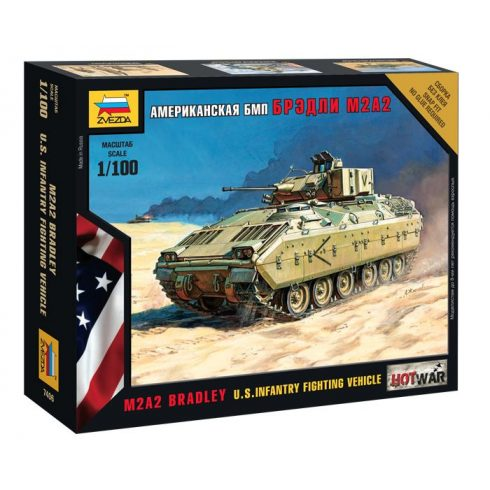Zvezda  Bradley tank makett 7406