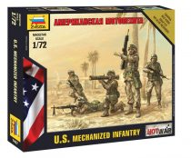 U.S. Motorized Infantry figura makett Zvezda 7407