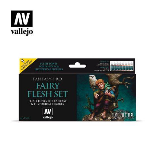 Vallejo Fairy Flesh festék szett 74101