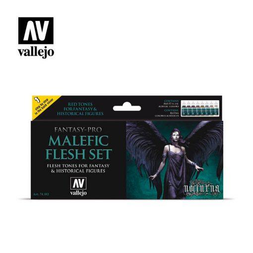 Vallejo Malefic Flesh festék szett 74102