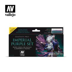 Vallejo Fantasy-Pro Imperial Purple festék szett 74104