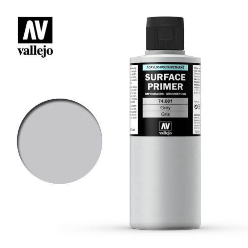 Vallejo Surface Primer Grey akril alapozó festék szürke 74601