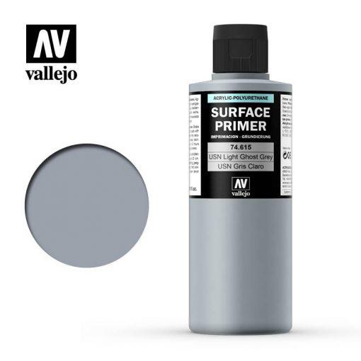 Vallejo USN Light Ghost Grey primer alapozó 200 ml 74615