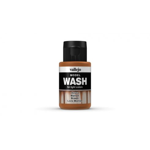 Model Wash Vallejo 76513 Brown