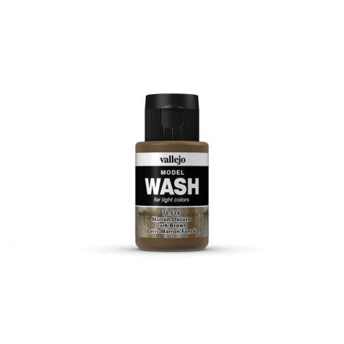 Model Wash Vallejo 76514 Dark Brown