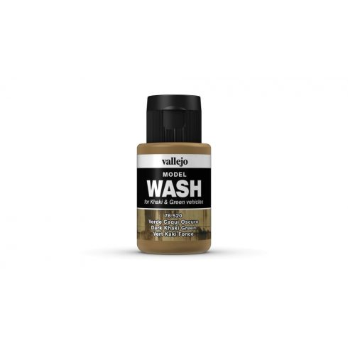 Model Wash Vallejo 76520 Dark Khaki Green