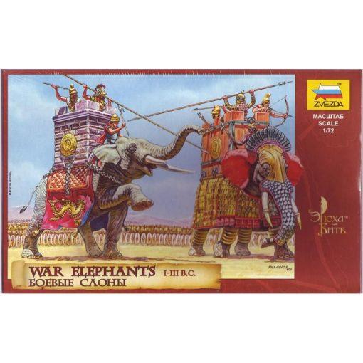 War Elephants makett Zvezda 8011