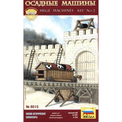 Siege Machines Kit No.2 épület makett Zvezda 8015