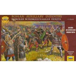 Roman Aux.Infantry figura makett Zvezda 8052