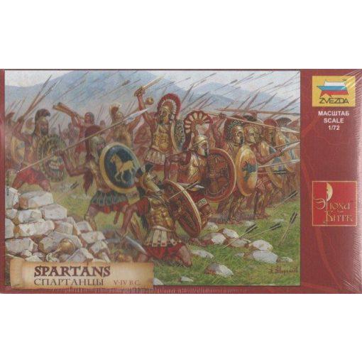 Spartans figura makett Zvezda 8068