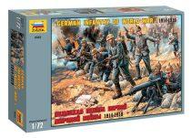 German infantry of world war I 1914-1918 figura makett Zvezda 8083