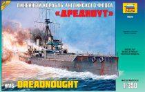 Battleship «Dreadnought» hajó makett Zvezda 9039