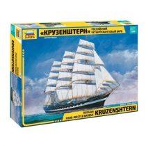 Krusenstern Sailingship hajó makett Zvezda 9045