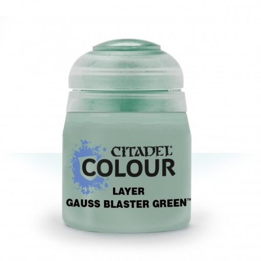 Citadel Layer: LAYER: GAUSS BLASTER GREEN akrilfesték (12ML) 9918995110206