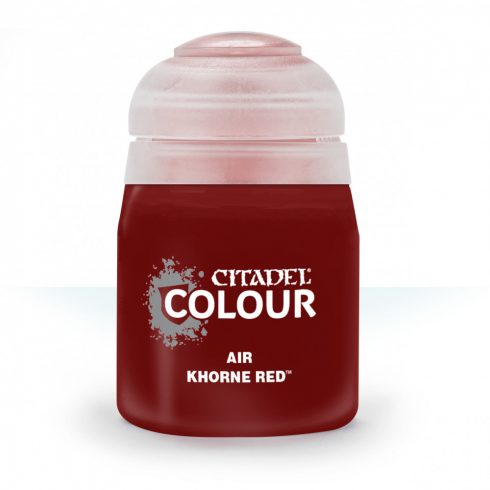 Citadel AIR: KHORNE RED akrilfesték (24ML) 9918995805506