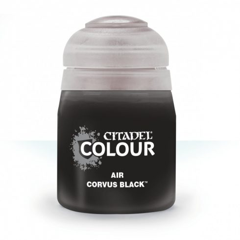Citadel AIR: CORVUS BLACK akrilfesték (24ML) 9918995811606