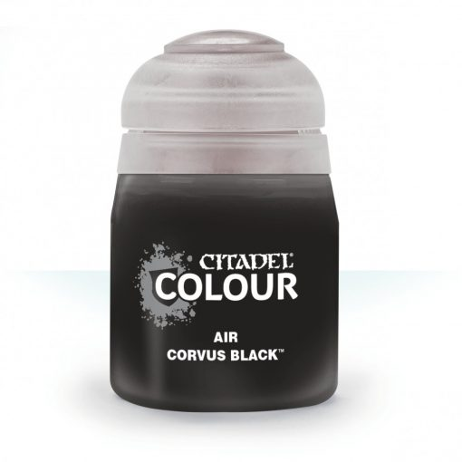 Citadel AIR: CORVUS BLACK akrilfesték (24ML) 9918995811606