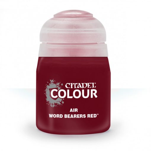 Citadel AIR: WORD BEARERS RED akrilfesték (24ML) 9918995812506