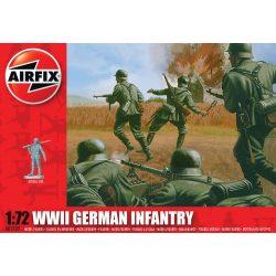 WWII German Infantry figura makett AirFix A00705