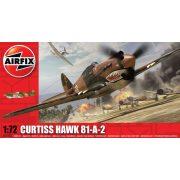 Airfix Curtis P-40B Tomahawk repülőgép makett A01003