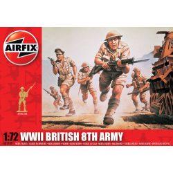 WWII British 8th Army figura makett Airfix A01709