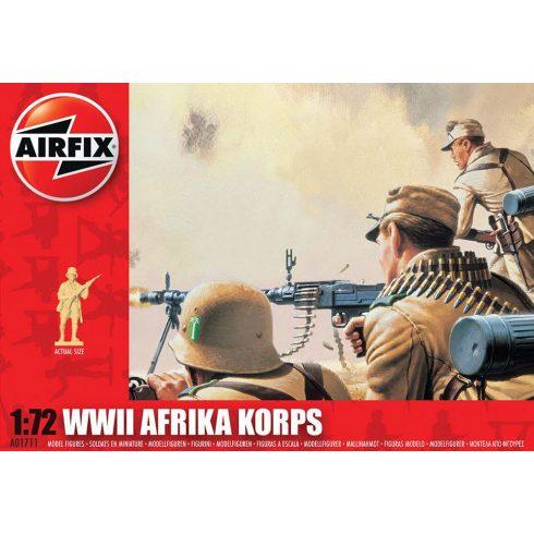 WWII Afrika Korps katona makett AirFix A01711
