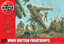 WWII British Paratroops figura makett Airfix A01723