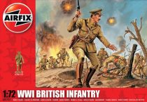 WWI British Infantry figura makett A01727