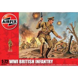 WWI British Infantry figura makett A01727