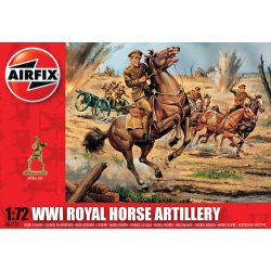 WWI Royal Horse Artillery figura makett Airfix A01731