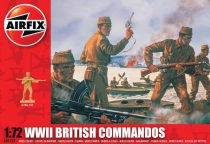 WWII British Commandos figura makett Airfix A01732