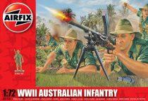 WWII Australian Infantry figura makett Airfix A01750