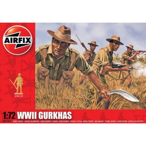 WWII Gurkhas figura makett Airfix A01754