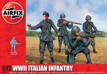 WWII Italian Infantry figura makett Airfix A01757