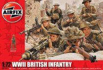 WWII British Infantry figura makett Airfix A01763