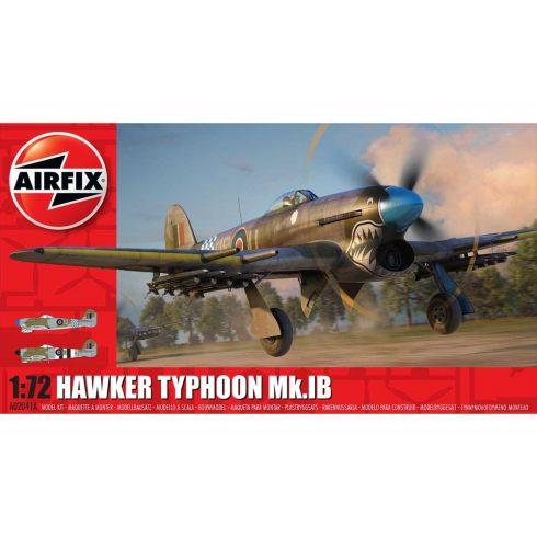 Airfix HAWKER TYPHOON 1B repülőgép makett A02041A
