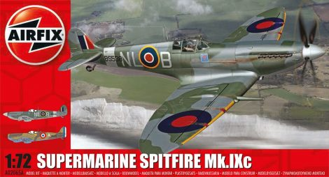 Supermarine Spitfire MkIXc repülő makett Airfix A02065A