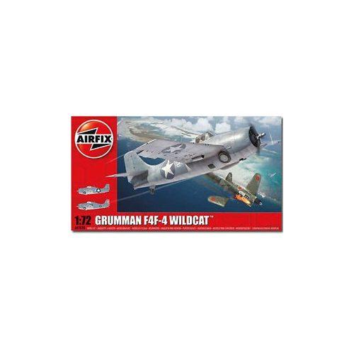 Airfix Grumman Wildcat F4F-4 repülőgép makett A02070