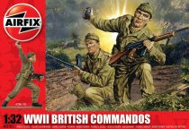 WWII British Commandos figura makett Airfix A02705