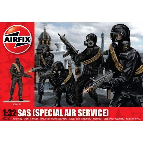 SAS Troops figura makett Airfix A02720