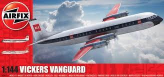 Vickers Vanguard repülő makett Airfix A03171