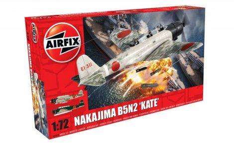 Airfix Nakajima B5N2 Kate repülőgép makett A04058